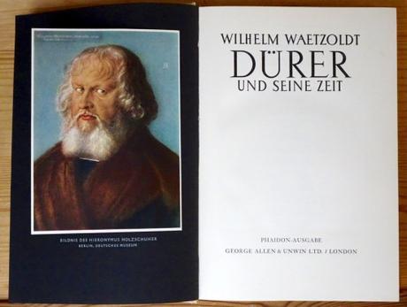 Wilhelm Waetzoldt: Dürer und seine Zeit