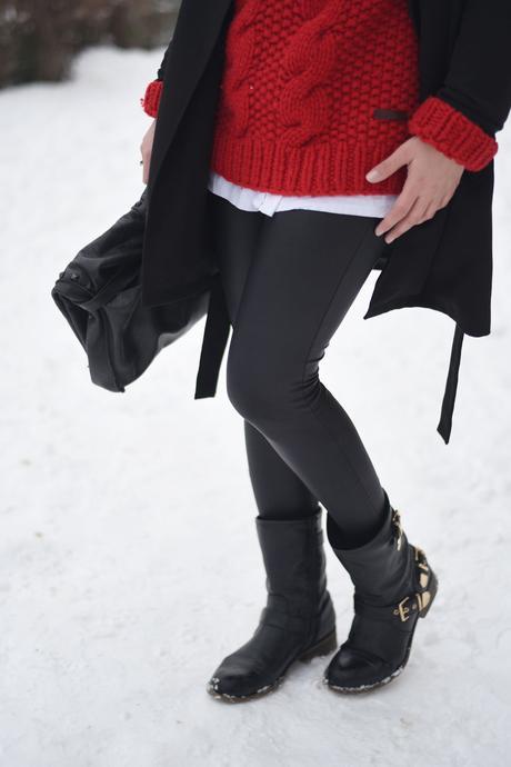 Schneeweißchen und Rosenrot – ein letztes Outfit im Schnee