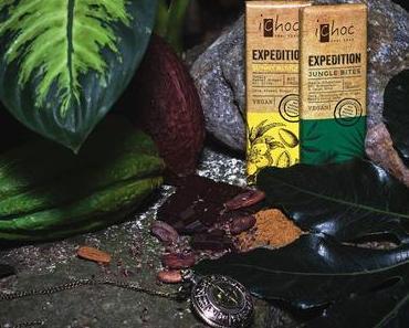 Neue vegane Schokolade von iChoc | Gewinne eins von 5 iChoc EXPEDITION-Paketen