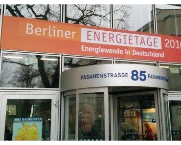 Erste Einblicke in das Programm der Berliner Energietage 2017