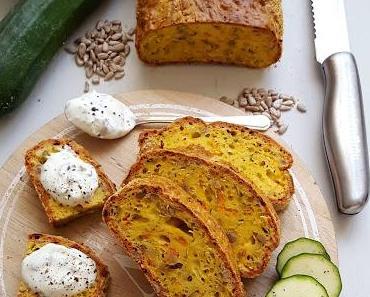 Carbs in der Diskussion und ein Protein-Brot mit Karotte und Zucchini