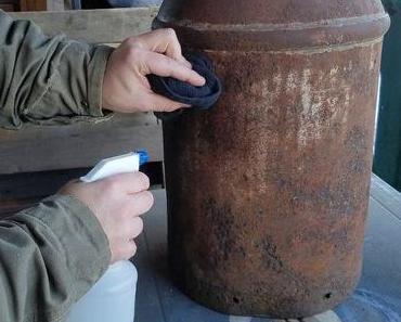 DIY Projekt 5/2017 Milchkannen – Beistelltisch