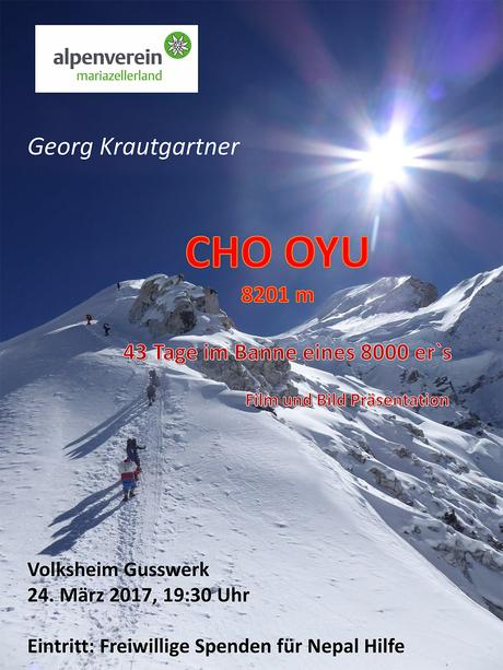 Georg Krautgartner – CHO OYU Film & Bildpräsentation