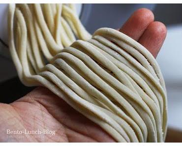 Rezept: Udon, japanische dicke Weizennudeln aus dem Philips Pastamaker