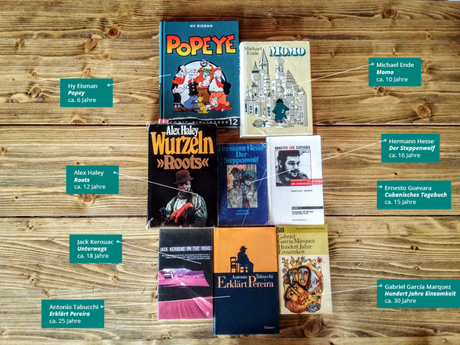 Ein Leseleben in 8 Büchern