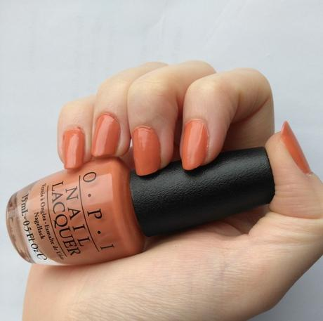OPI Nail Lacquer Freedom of Peach (LE) + OPI Nail Lacquer OPI by Popular Vote (LE)