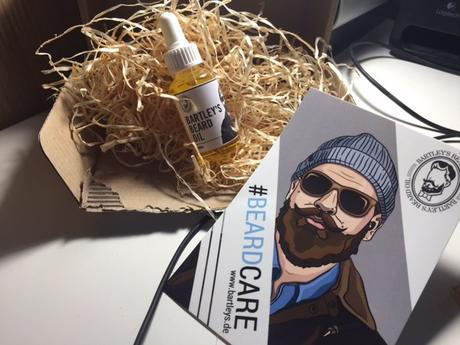 Bartley's Beard Oil- Natur im Bart