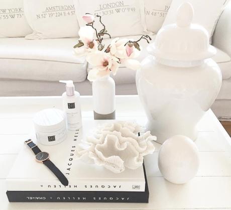 Weiße Wohnwelt - Der Hampton Style