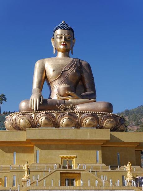 Buddha Statue bei Thimphu