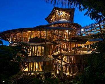 Die fantastische Bambusarchitektur von Ibuku