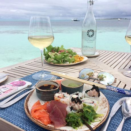 Hurawalhi Island Resort Maldives Mittagessen