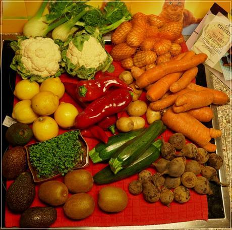 meine zweite & letzte GemüseRetterBox