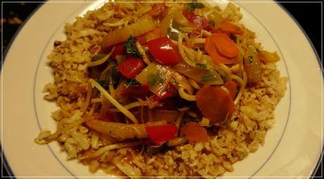 lecker Essen mit gerettetem Gemüse -1-