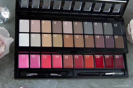 Bronx Colors - Nude on me und Macchiato Palette - Review und Swatches