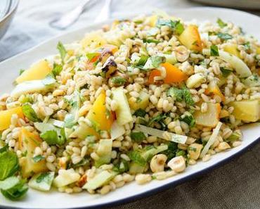 Gelbe Bete Salat mit Gerste