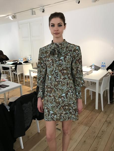 Kleid im 60's Stil für den Winter bei Chloé - Farewell Clare Wright Keller