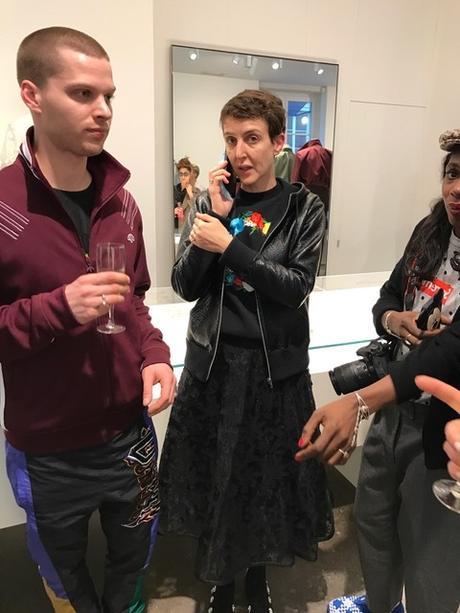 Sarah Colette hat während der Fashionweek in Paris viel zu tun....