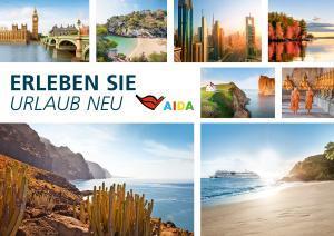 Countdown zum Buchungsstart für die schönsten AIDA Kreuzfahrten im Sommer 2018 – buchbar ab 14. März 2017