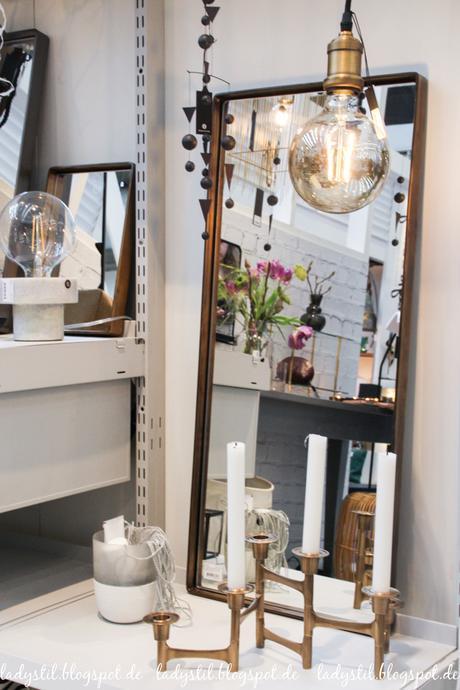 Ambiente 2017 House Doctor Dekorationsartikel, Wohnaccessoires,goldener Kerzenleuchter
