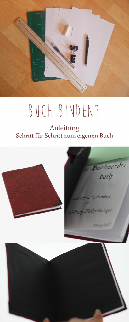 How to Buch binden