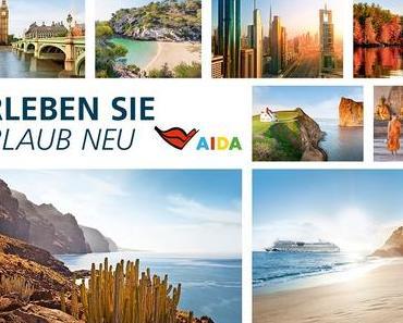 AIDA Kreuzfahrten für den Sommer 2018 buchbar