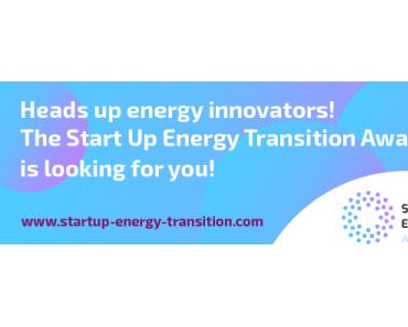 Start Up Energy Transition Award – die Finalisten in der Übersicht