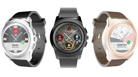 MyKronoz Ze Time Smartwatch und Fitness Tracker