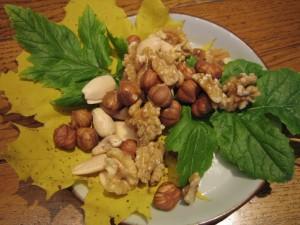 Genussvoll gesund essen mit Nüsse