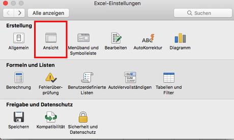 Excel 2016 Mac OS X: Wie werden die Entwicklertools angezeigt?