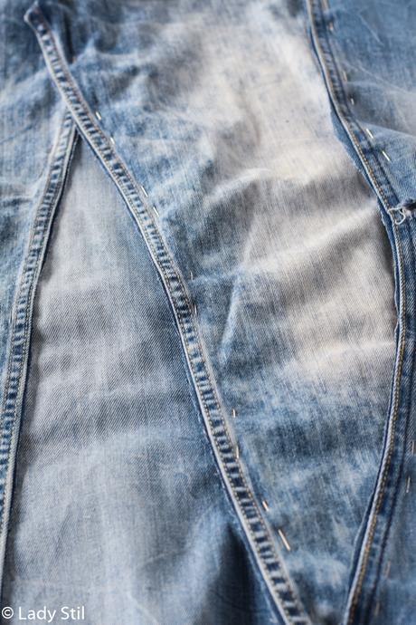 DIY, Blue Jeans - Farbe und Stoff im Interiorbereich - DekoDonnerstag