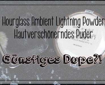 |Günstiges Dupe?| Hourglass Ambient Lighting Powder vs. Wet 'n' Wild Color Icon Bronzer