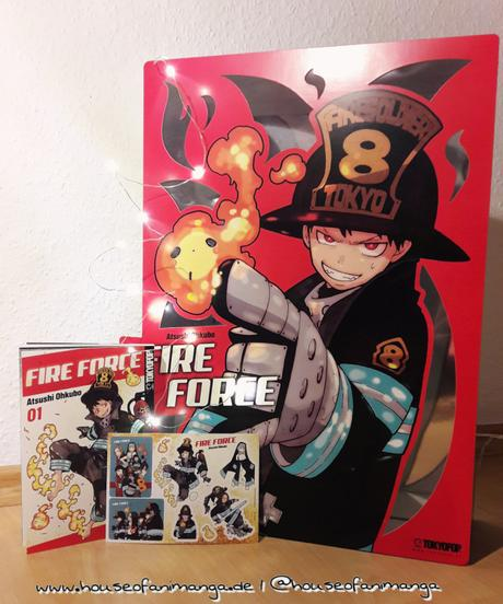 Manga Review: Fire Force Band 1 von Fuma