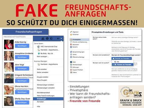 Fake Anfragen Facebook