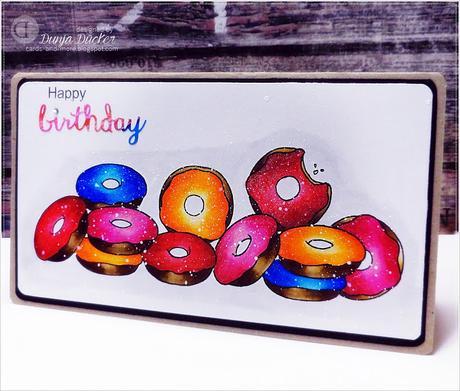 Happy Birthday Card | Donuts Donuts Donuts