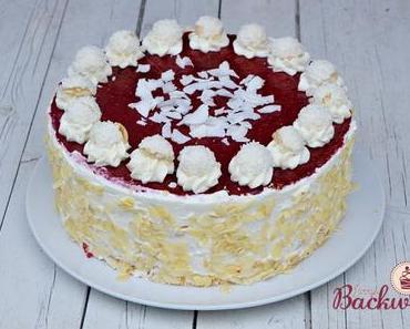Raffaello Himbeer Torte