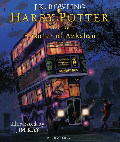 Cover Reveal ~ Harry Potter and the Prisoner of Azkaban Illustrated Edition