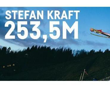 Weltrekord im Skispringen: Stefan Kraft fliegt 253,5 Meter