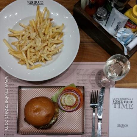 Ein Einblick in meine Arbeit / Tätigkeit als Restaurantester - mehr dazu an einem Beispiel an brgr.co in London.