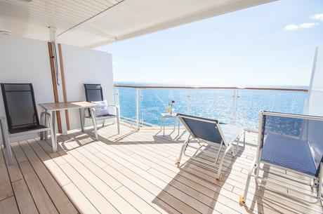 Mein Schiff 2: Junior Suite mit X-Lounge-Zugang