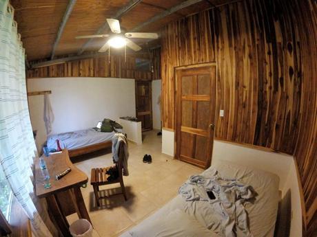 Unser geräumiges Zimmer bei unserer Erfahrung mit Workaway