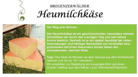 Bregenzerwälder Heumilchkäse | Schnittkäse