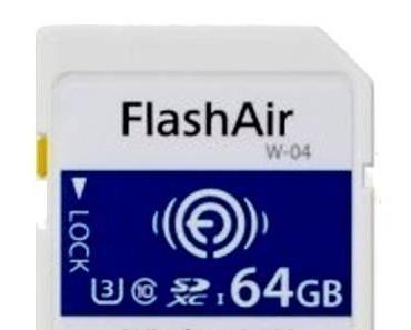 Cebit: Toshiba mit neuer FlashAir-Speicherkarte