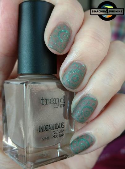 [Nails] trend IT UP INJEANIOUS DENIM NAIL LACQUER 050
