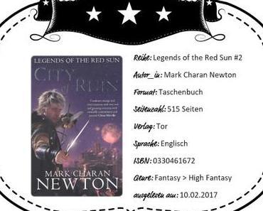 Mark Charan Newton – City of Ruin