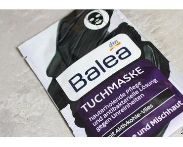 Balea Tuchmaske mit Aktivkohle-Vlies – Die schwarze Hautmaske für entspannte Momente