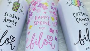 Bilou Verlosung drei neuen Sorten Frühling 2017 Slushy Apple Happy Spring Cotton Candy