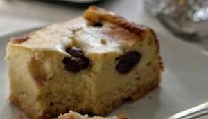 Quarkkuchen Vanille Eierlikör Café Peri
