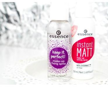 [Review] essence instant MATT make-up setting spray vs. keep it Perfect! make-up fixing spray