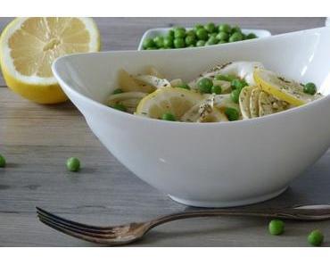 Nachgekocht: vegane Zitronen Fenchel Pasta
