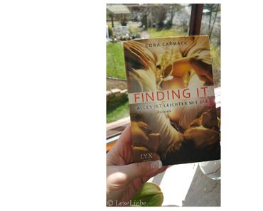 [Rezension] Finding it - Alles ist leichter mit dir || Cora Carmack